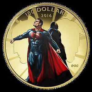 Batman V Superman Coin collection