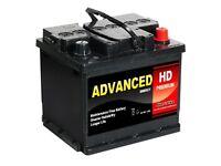 New advanced car battery 12v 45ah
