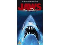 Jaws vhs video