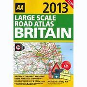 UK Road Atlas 2013