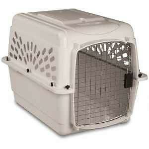 Xtra Large Plastic Dog Kennels x 2