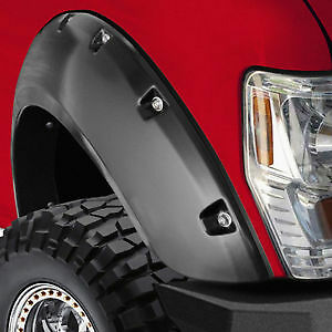 07-13 CHEV AND GMC 1500 2500 3500 POCKET FENDER FLARES