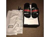 Size 10 Gucci Sliders