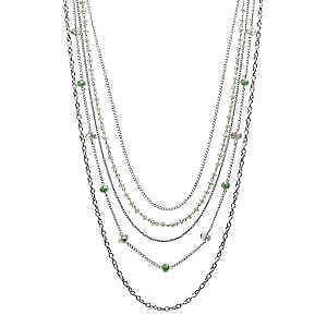 Multi Strand Necklace Ebay
