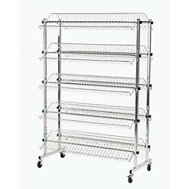 Morplan double-sided shoe rack. New price £229, only asking £95.