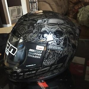 Icon XS helmet, new with tags