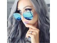 Sunglasses mirrored casteye sunglasses £10each