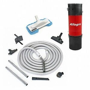 Central Vacuum Unit 30' Lightweight Hose & Attachments $399.99