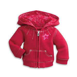 American Girl Doll Clothes- Silver Stitch Hoodie and Ball Cap