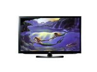 lg 37lf66 lcd tv. fully working order . free view build in