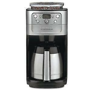 CUISINART BURR GRIND AND BREW COFFEE MAKER-- CANT BEAT THIS DEAL!