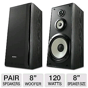 Sony ssb3000 pair of speakers with matching center  80 firm