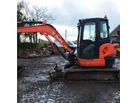Digger and driver hire ???