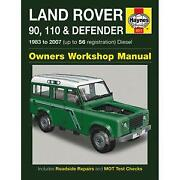 Land Rover Defender Haynes Manual