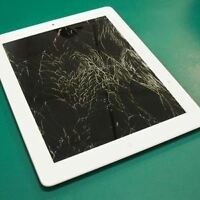 Broken or cracked screen on your iPad or iPhone?