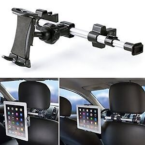 Tablet / iPad car mount for back seat