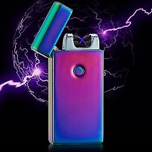 New Electric Plasma Lighters USB rechargeable windproof NO GAS