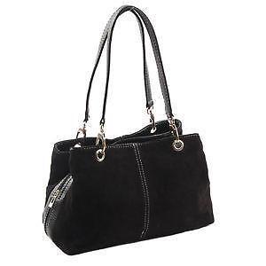 handtaschen in schwarz g nstig online kaufen bei ebay. Black Bedroom Furniture Sets. Home Design Ideas
