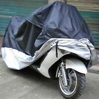 Brand New XXL Black/Silver Breathable Motorcycle Dust Covers
