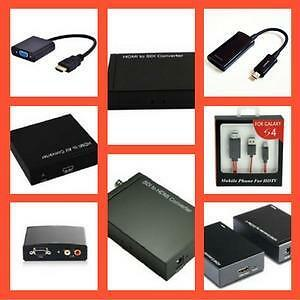 Weekly Promo!     HDMI to VGA,HDMI to Composite, HDMI to Component, HDMI TO CAT6/cat5e, HDMI TO SDI, Mi