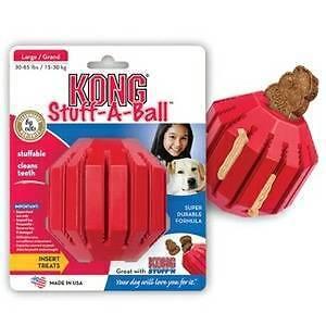 kong stuff a ball dog toy chew toy Skye Frankston Area Preview