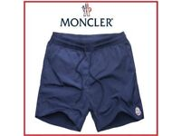 Men's new navy moncler shorts