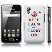 Samsung Galaxy Ace Case Keep Calm