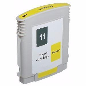 Hp 11 (C4838A) Ink Cartridge Yellow New Compatible