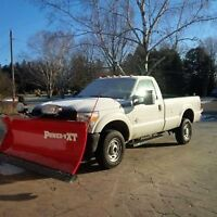 FAST & EFFICIANT SNOW PLOWING & SALT/SANDING CALL 705 292-762