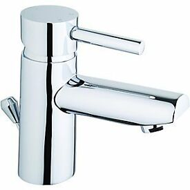 Mixer Tap, Mono Basin, from Wickes 'Asmara' - Chrome finish - Brand new