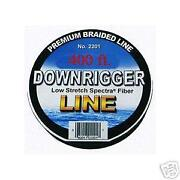 Braided Downrigger Line