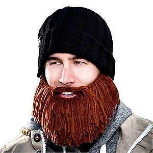 Knit Hat With Beard Ebay