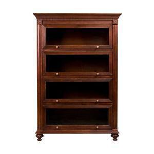 ethan allen cinnabar marshall barrister bookcases a pair