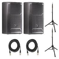 JBL PRX 712 - PAIRE - DEMO + 2xStands + 2xCable * 1500 WATTS