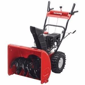 Souffleuse à neige Yard Marchines 2 phases de 208 cc avec largeur de déblaiement de 24 po