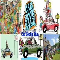 Car Bootie Sale Dates & Locations Booked: (Traveling Garage Sale