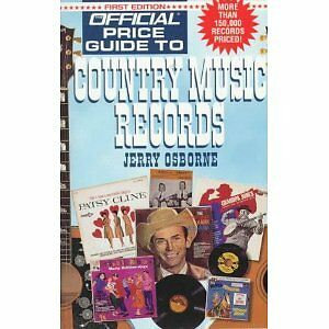 Official Price Guide to Country Music  Records-First Edition