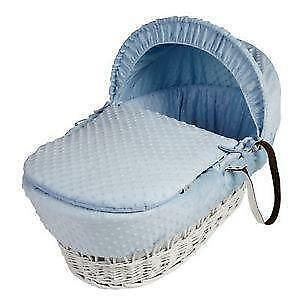 Moses Basket Bedding Set Cover Hood And Quilt