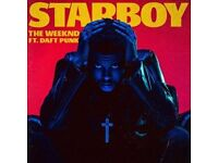 2x Weeknd tickets o2 - Floor standing - 7th March