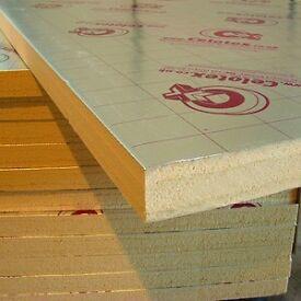 Celotex 140 mm boards.