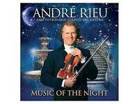 André Rieu - Music of the Night (+DVD, 2013) New and sealed
