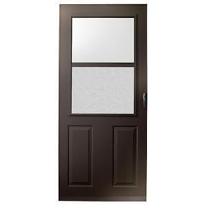 NEW EMCO-ANDERSEN 400 SERIES SCREEN DOOR-BRONZE 34 x80