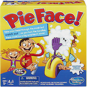 Pie Face game for kids