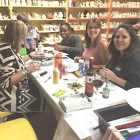 Ladies Night at Clay for Kids & Adults too May 12