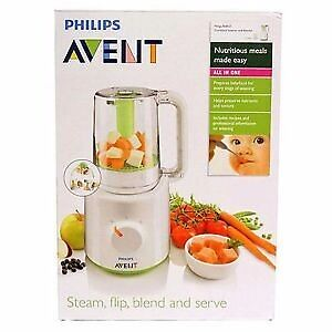 Philips Avent Combined Baby Food Steamer and Blender, Philips baby blender, Philips baby steamerin Watford, HertfordshireGumtree - Philips Avent Combined Baby Food Steamer and Blender, Philips baby blender, Philips baby steamer Philips Avent SCF870/21 Combined Baby Food Steamer and Blender An all in one solution to preparing baby food for every stage of weaning Nutritious meals...