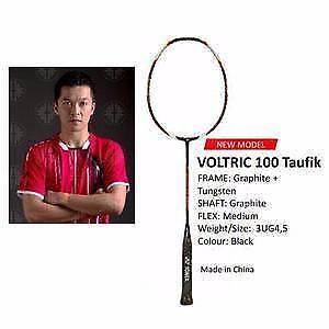 Yonex Voltric 100 Taufik Hidayat 3U-G4 Badminton Racquet West Melbourne Melbourne City Preview