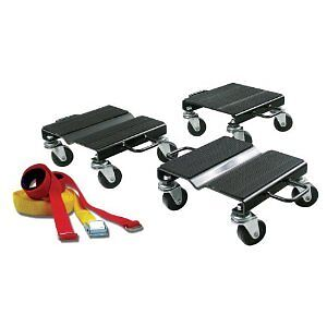 NEUF CHARIOT MOTONEIGE SNOWMOBILE ROLLER DOLLY SKIDOO ROULETTE