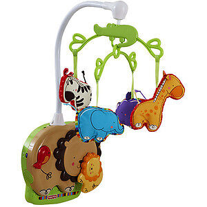 Fisher Price Luv U Zoo Soother Baby Mobile