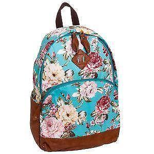 ba170bc44687 Floral Print Backpacks