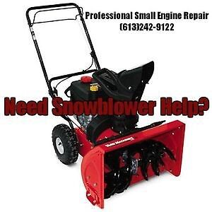 *SNOWBLOWER SERVICE AND REPAIR*
